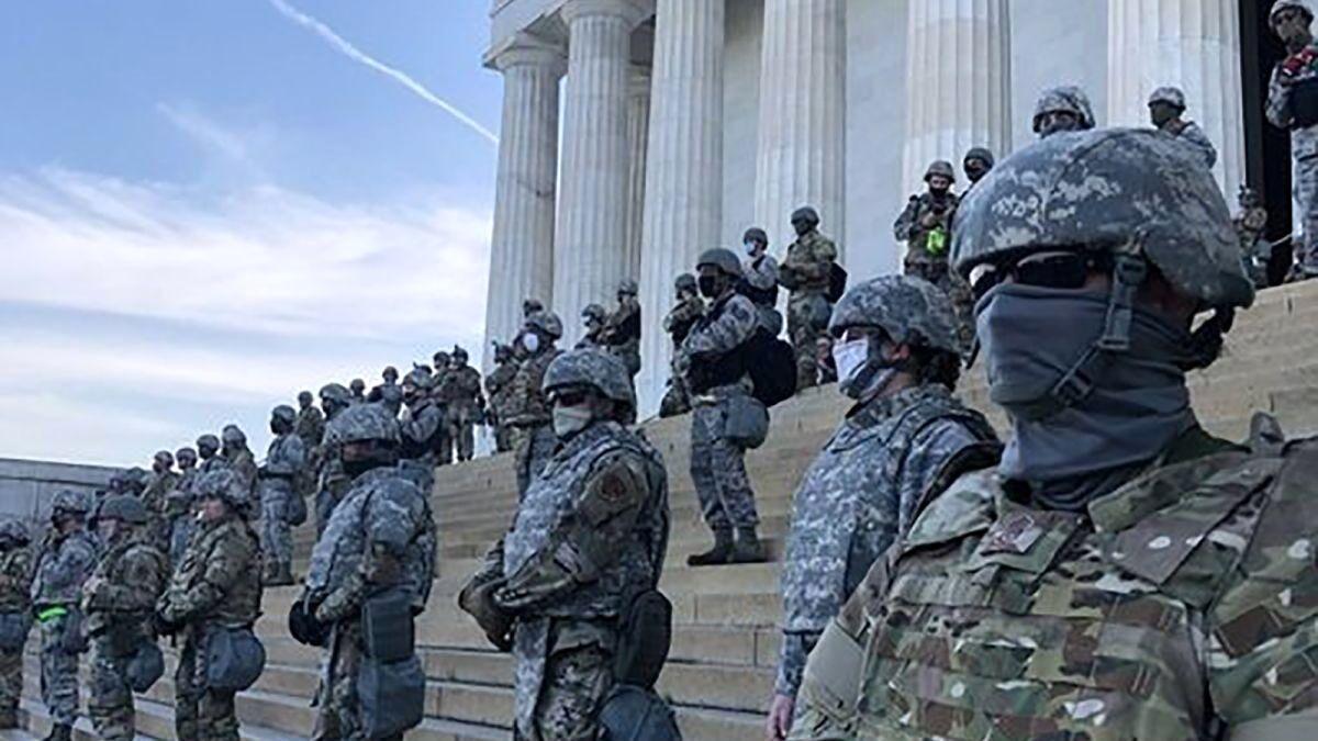 آمریکا: پلیس کنگره آماده باش