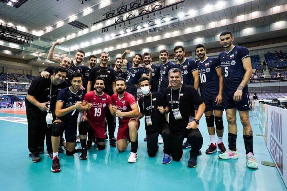 دیوار چین برای بلند قامتان والیبال ایران کوتاه بود
