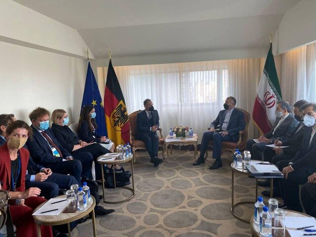 رایزنی وزیران امور خارجه ایران و آلمان در نیویورک