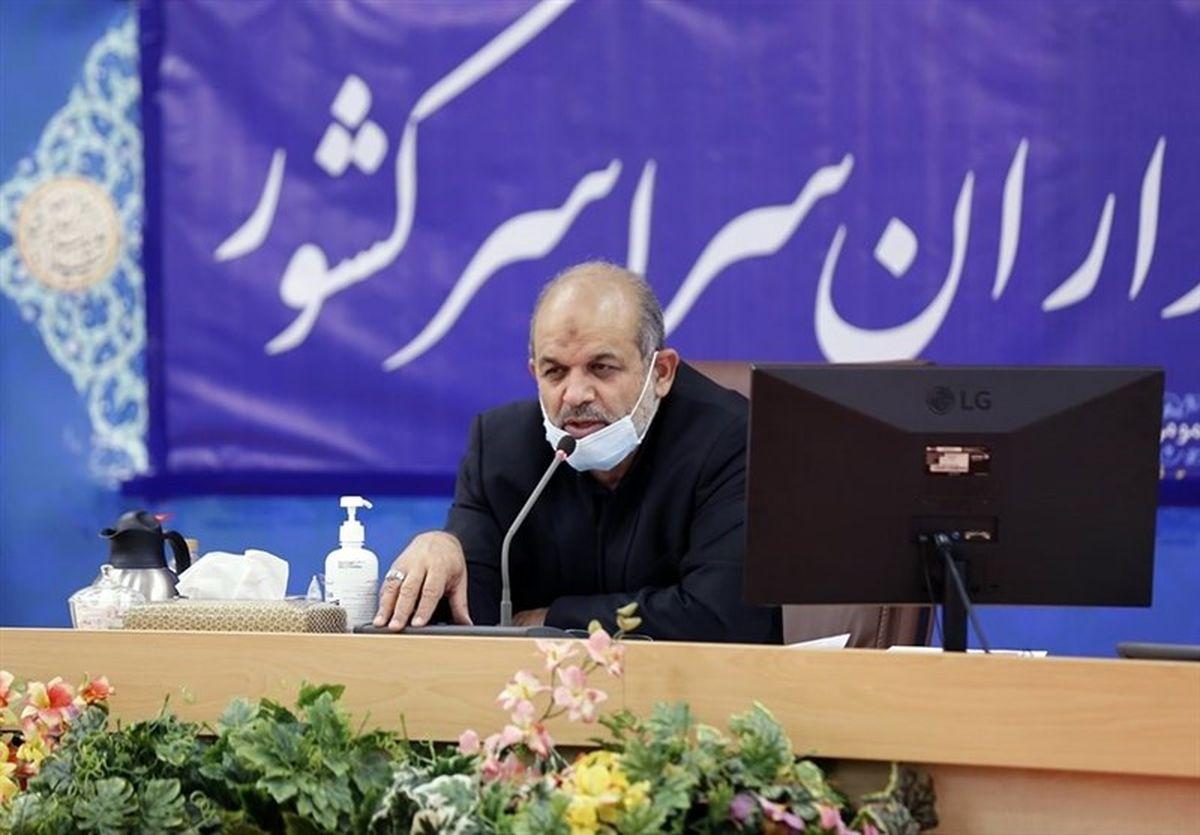 وزیر کشور: دولت تمام تلاش خود را برای التیام سختیهای مردم خوزستان به کار میبندد