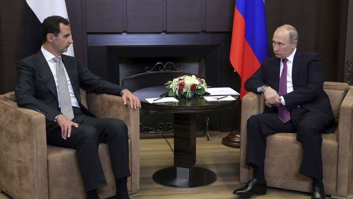 پوتین: حضور بیگانگان، مشکل اصلی سوریه است