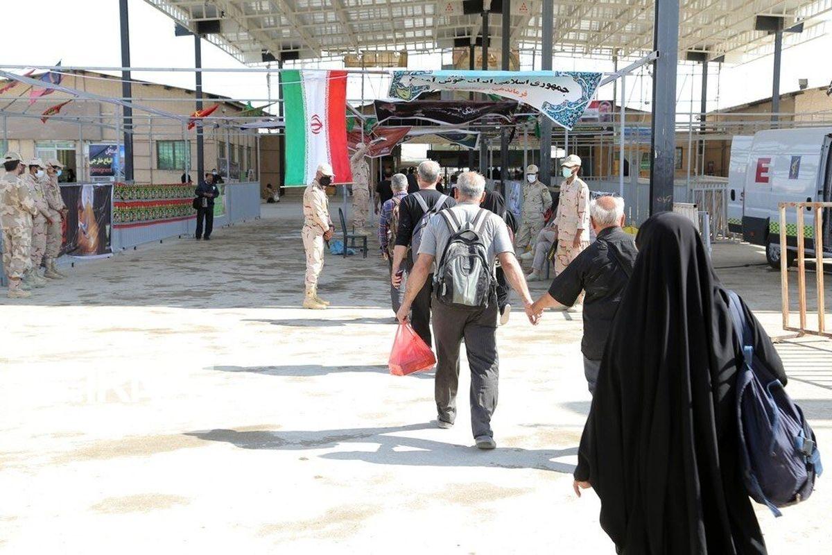 بیش از ۶۲ هزار زائر اربعین از مرز مهران به کشور وارد شدند