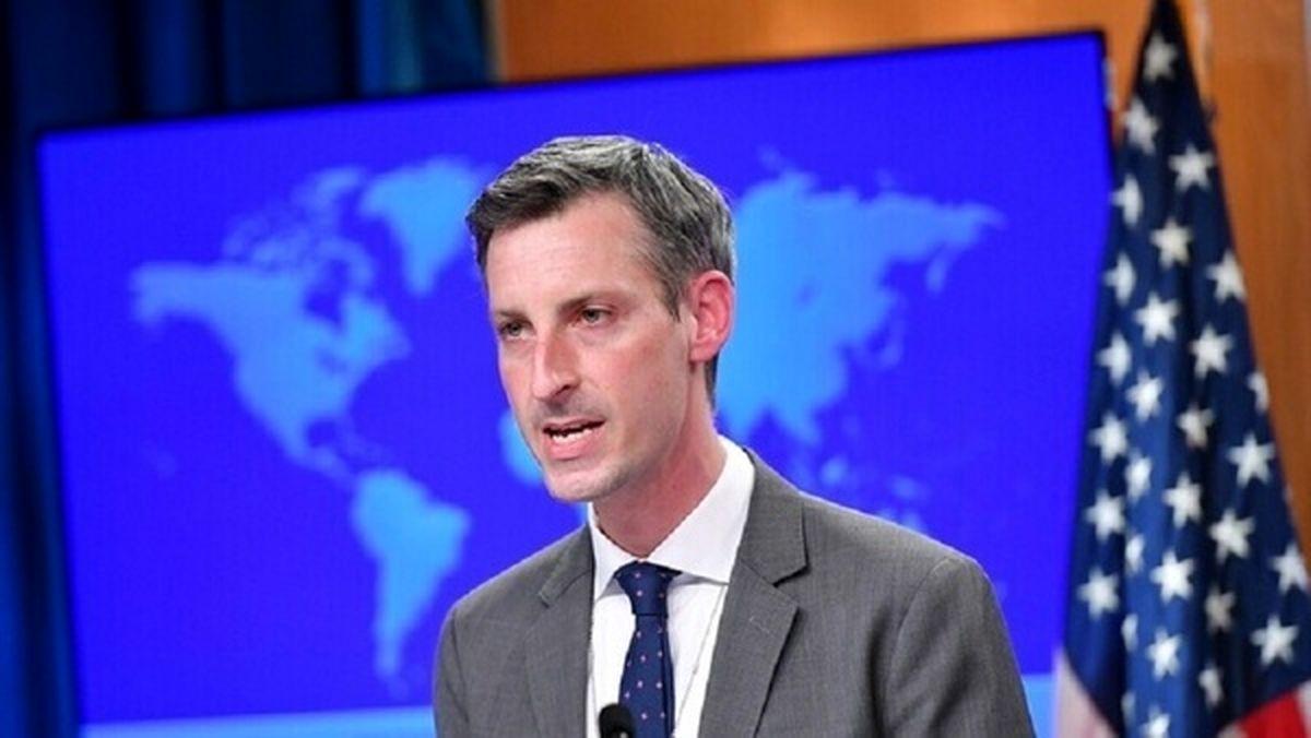 سخنگوی وزارت خارجه آمریکا: تمام تحریمهای ایران به قوت خود باقی است