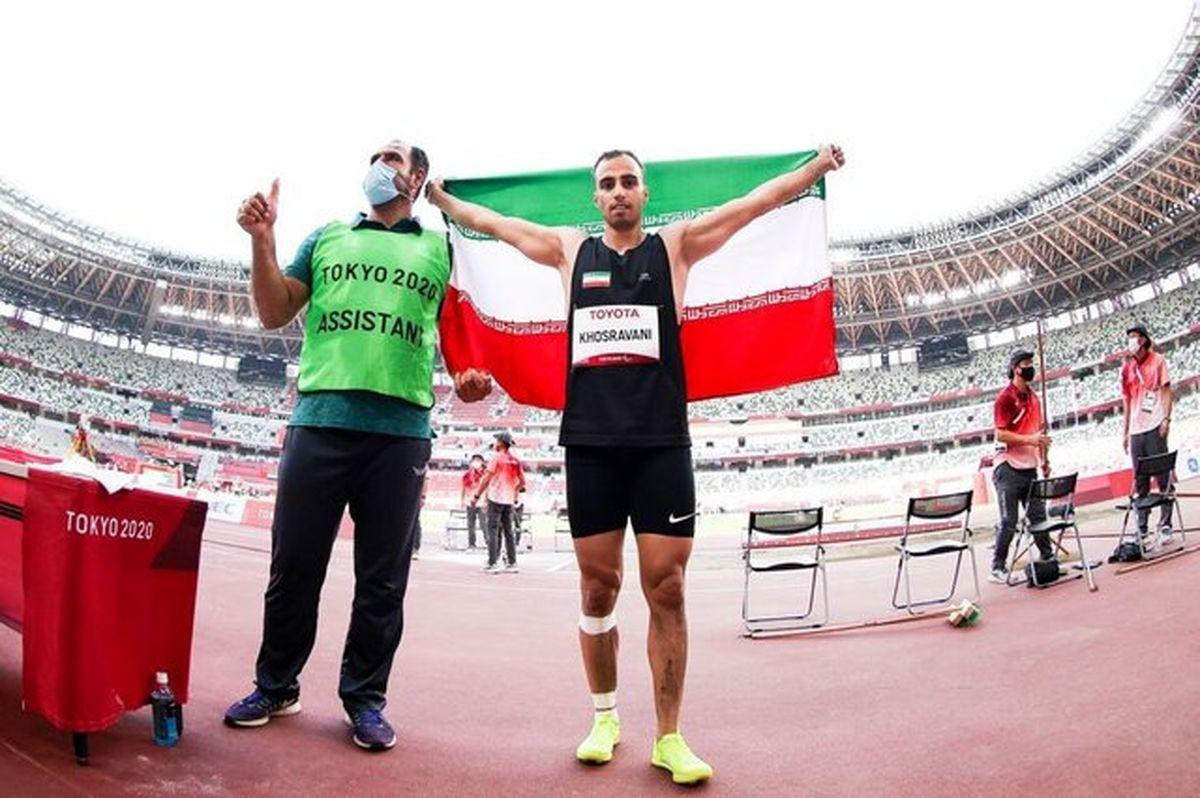 چهارمین طلای پارالمپیک ایران بدست آمد