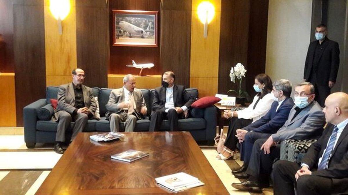 جزئیات ملاقات و رایزنی های امیر عبداللهیان در لبنان