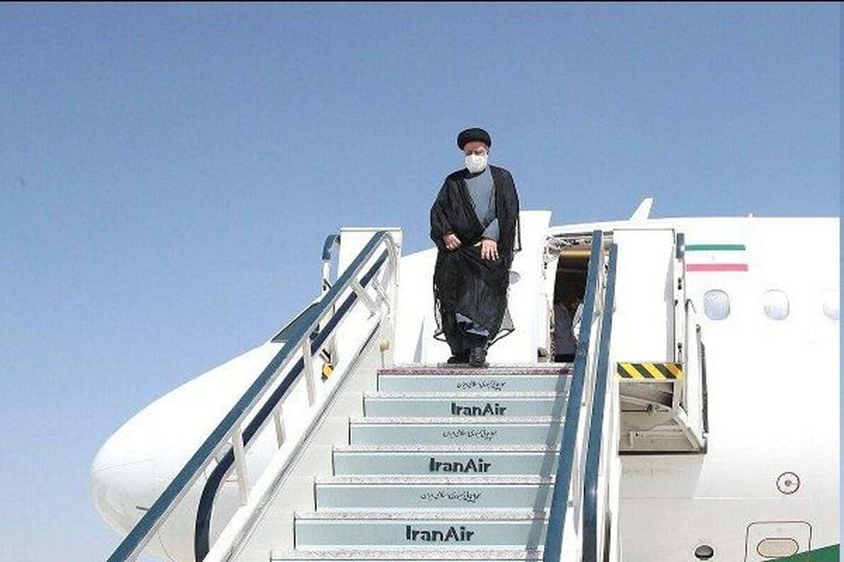 رئیسی عازم دوشنبه پایتخت تاجیکستان شد