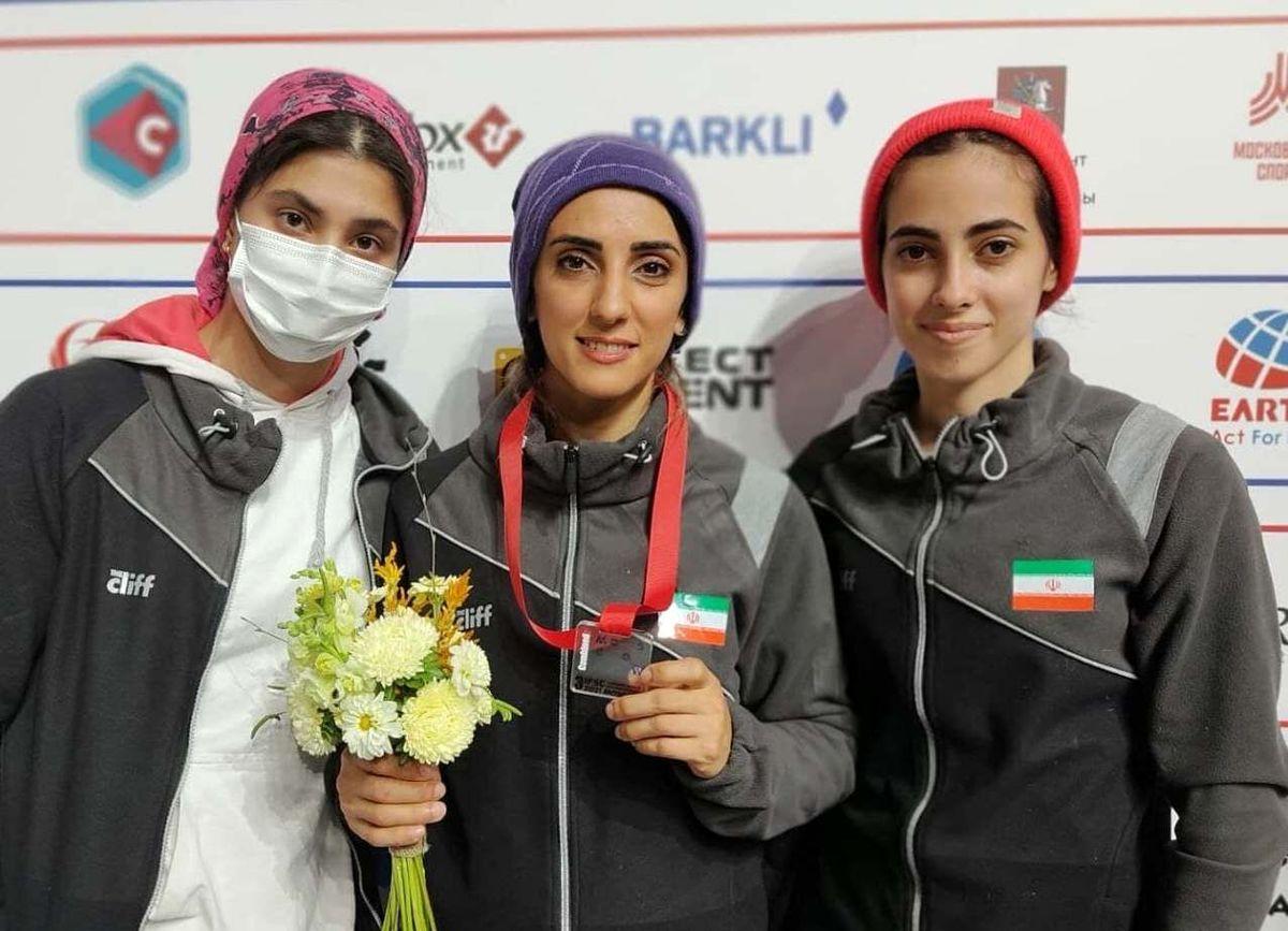 کسب مدال برنز سنگنوردی قهرمانی جهان توسط «الناز رکابی»